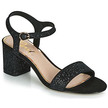 Čevlji  Ženske Sandali & Odprti čevlji Ravel WALTON Črna