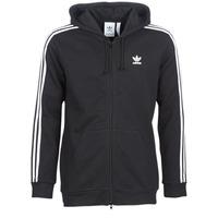 Oblačila Moški Puloverji adidas Originals 3 STRIPES FZ Črna