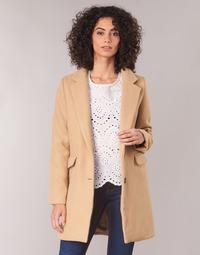 Oblačila Ženske Plašči Betty London JRUDON Bež