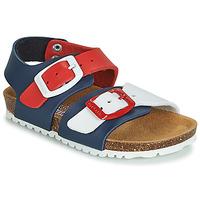 Čevlji  Otroci Sandali & Odprti čevlji Garvalin BIO  BOY Rdeča / Bela