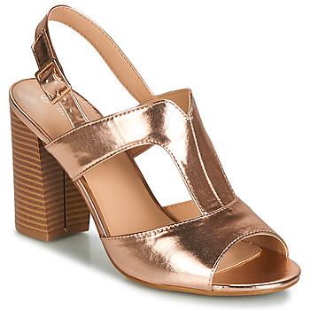 Čevlji  Ženske Sandali & Odprti čevlji Moony Mood JALILIA Bronze