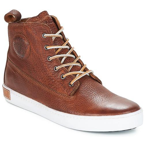 Čevlji  Moški Nizke superge Blackstone INCH WORKER Kostanjeva