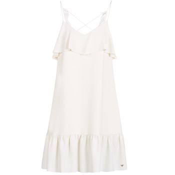 Oblačila Ženske Kratke obleke Les Petites Bombes AZITARBE Bela