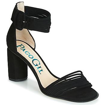 Čevlji  Ženske Sandali & Odprti čevlji Paco Gil BALI Črna