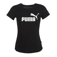 Oblačila Ženske Majice s kratkimi rokavi Puma PERMA ESS TEE Črna