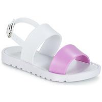 Čevlji  Deklice Sandali & Odprti čevlji Be Only ELEA Bela / Rožnata