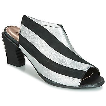 Čevlji  Ženske Sandali & Odprti čevlji Papucei BETINA Črna / Bela