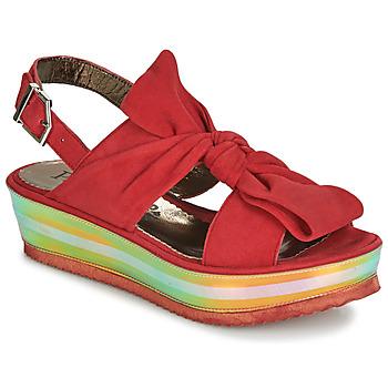 Čevlji  Ženske Sandali & Odprti čevlji Papucei CONDE Rdeča