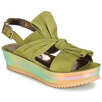 Čevlji  Ženske Sandali & Odprti čevlji Papucei CONDE Zelena