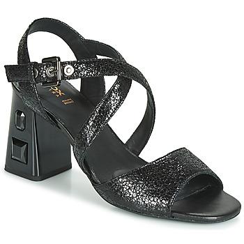 Čevlji  Ženske Sandali & Odprti čevlji Geox D SEYLA S. HIGH PLUS Črna