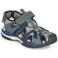 Čevlji  Dečki Športni sandali Geox J BOREALIS BOY Siva