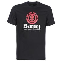 Oblačila Moški Majice s kratkimi rokavi Element VERTICAL SS Črna