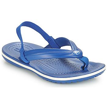Čevlji  Otroci Sandali & Odprti čevlji Crocs CROCBAND STRAP FLIP K Modra