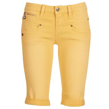 Oblačila Ženske Kratke hlače & Bermuda Freeman T.Porter Belixa New Magic Color Rumena