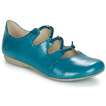Čevlji  Ženske Balerinke Josef Seibel FIONA 04 Modra