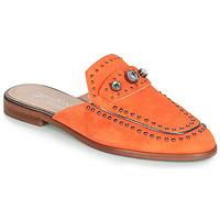 Čevlji  Ženske Natikači Dorking 7783 Oranžna