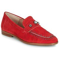 Čevlji  Ženske Mokasini Dorking 7782 Rdeča
