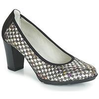 Čevlji  Ženske Salonarji Dorking 7736 Siva / Črna