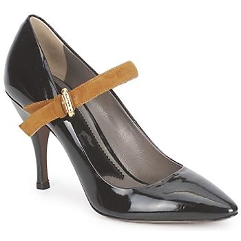 Čevlji  Ženske Salonarji Etro SHIRLEY Nero-mustard