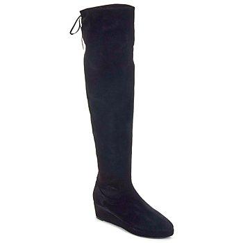 Čevlji  Ženske Visoki škornji Etro NEFER Nero-mustard