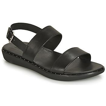 Čevlji  Ženske Sandali & Odprti čevlji FitFlop BARRA Črna