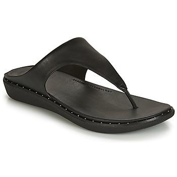 Čevlji  Ženske Japonke FitFlop BANDA II Črna