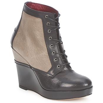 Čevlji  Ženske Gležnjarji Antonio Marras CALIB Črna