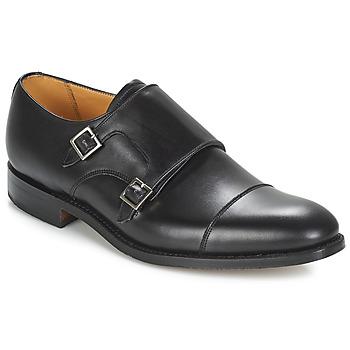 Čevlji  Moški Čevlji Richelieu Barker TUNSTALL Črna