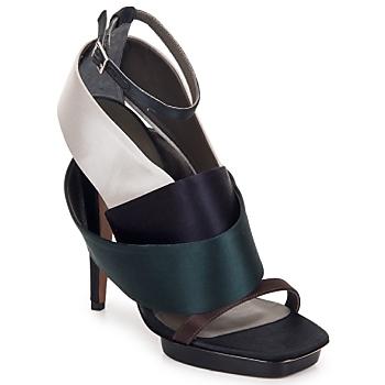 Čevlji  Ženske Sandali & Odprti čevlji Kallisté NU-PIED 5801 Srebrna