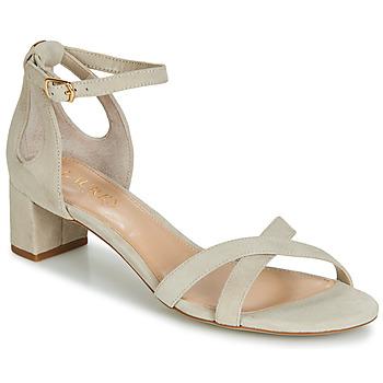 Čevlji  Ženske Sandali & Odprti čevlji Lauren Ralph Lauren FOLLY Bež