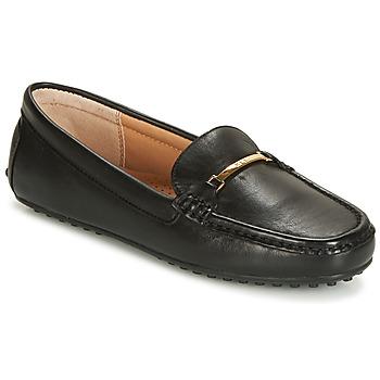 Čevlji  Ženske Mokasini Lauren Ralph Lauren BRIONY Črna