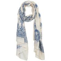 Tekstilni dodatki Ženske Šali & Rute André BISOU Modra