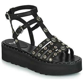 Čevlji  Ženske Sandali & Odprti čevlji Fru.it 5433-476 Črna / Clou