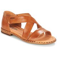 Čevlji  Ženske Sandali & Odprti čevlji Pikolinos ALGAR W0X Kamel