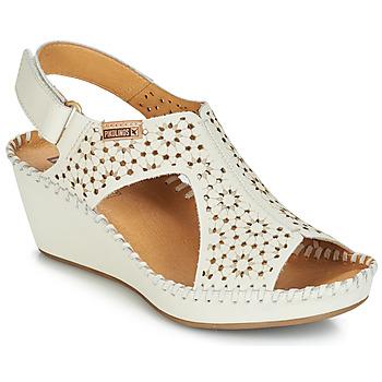 Čevlji  Ženske Sandali & Odprti čevlji Pikolinos MARGARITA 943 Bela