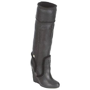 Čevlji  Ženske Mestni škornji    Roberto Cavalli QDS598-PJ007 Črna