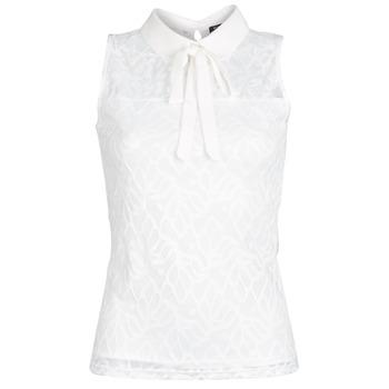 Oblačila Ženske Topi & Bluze Morgan DINCO Bela