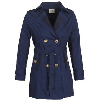 Oblačila Ženske Trenči Smash ANNABEL Modra