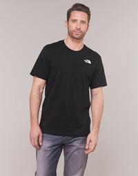 Oblačila Moški Majice s kratkimi rokavi The North Face MEN'S S/S REDBOX TEE Črna