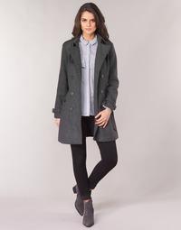 Oblačila Ženske Plašči Casual Attitude HAIELLI Siva