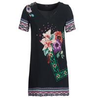 Oblačila Ženske Kratke obleke Desigual BARTA Črna
