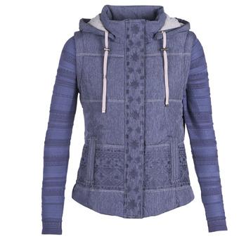 Oblačila Ženske Puhovke Desigual GABRIELLE Modra