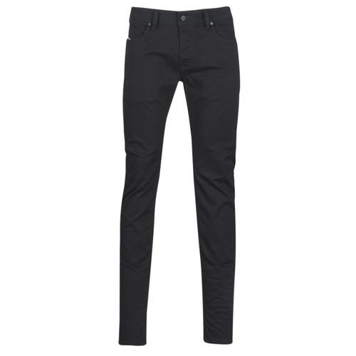 Oblačila Moški Jeans skinny Diesel SLEENKER Črna / 069ei
