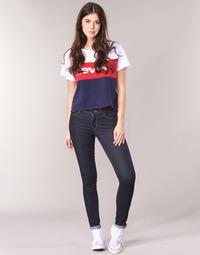 Oblačila Ženske Jeans skinny Levi's 711 SKINNY To / The / NINE