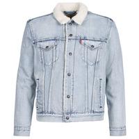 Oblačila Moški Jeans jakne Levi's TYPE 3 SHERPA TRUCKER Stonebridge / Sherpa / Trucker
