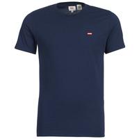 Oblačila Moški Majice s kratkimi rokavi Levi's SS ORIGINAL HM TEE Modra