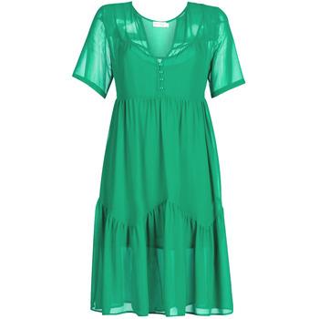 Oblačila Ženske Kratke obleke See U Soon GARAGACE Zelena