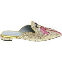 Čevlji  Ženske Cokli Chiara Ferragni CF1842 GLITTER ORO oro
