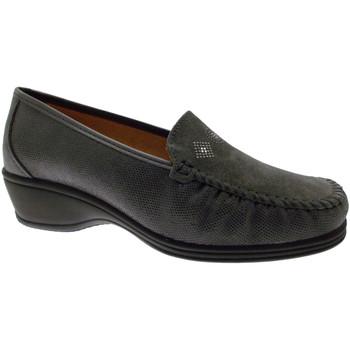 Čevlji  Ženske Mokasini Calzaturificio Loren LOK3992gr grigio