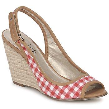 Čevlji  Ženske Sandali & Odprti čevlji StylistClick INES Rdeča